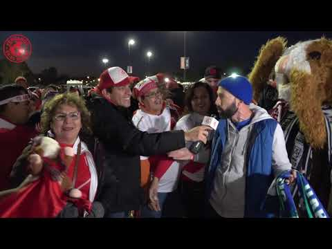 Peru vs EEUU (Hartford) : PeruanosEnElMundo - PXM con Roberto Pazos