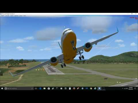 Microsoft Flight Simulator X, ILS flight lihue to honolulu