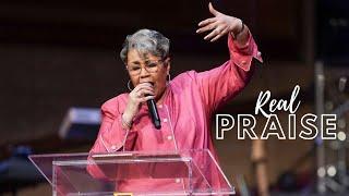 Real Praise | Rev. Elaine Flake | Allen Virtual Experience
