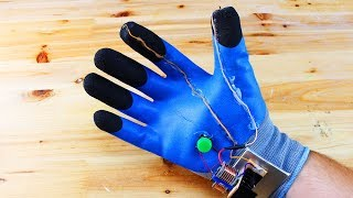 How To make Electric Lighter Gloves
