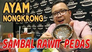Kuliner Ayam Nongkrong Jakarta Pakai Sambal Rawit Paling Pedas