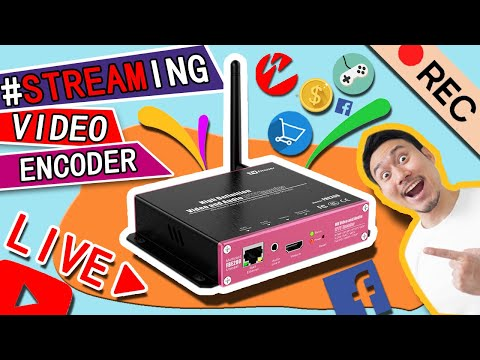 Buy Best FMUSER FBE200 Encoder H 264 H 265 HD Live Streaming IPTV Encoder for Youtube Facebook