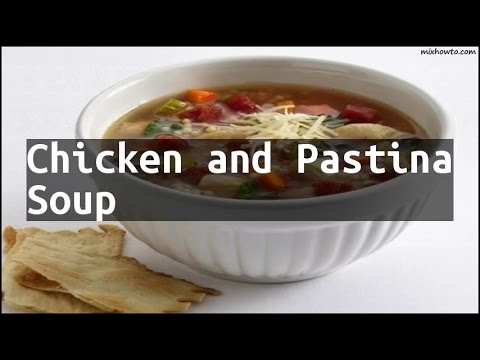 Recipe Chicken And Pastina Soup Youtube