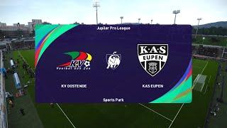 PES 2021 | KV Oostende vs KAS Eupen - Belgium Jupiler League | 12/01/2021