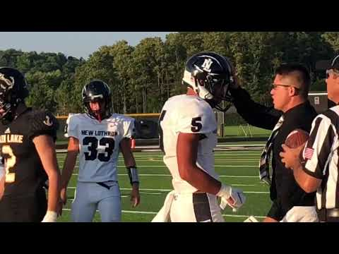 The Top 25 plays from #50 New Lothrop 48-16 win over  #124 Glen Lake last night at Glenn Lake.