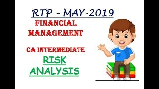 RTP Lecture-24-CA IPCC/Intermediate Financial Management May 19 RTP-Risk Analysis