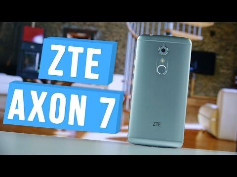 "ZTE Axon 7 - лучший китайский смартфон 2016 года для ""аудиофила"" | unboxing"