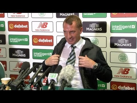 Celtic 2-1 Astana - Brendan Rodgers Post Match Press Conference
