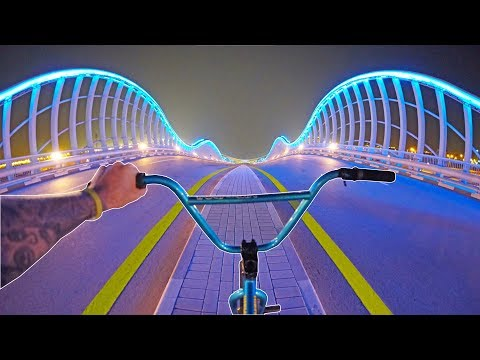 BMX HIGHWAY HILLBOMB IN DUBAI!