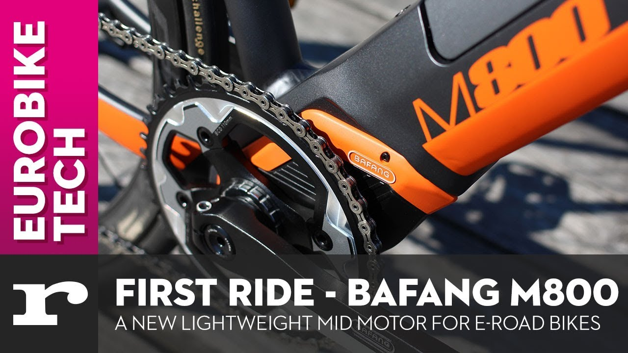 7b08243ff8f A new motor system for e-road bikes! Bafang M800 - YouTube