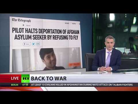Pilot refuses to return failed UK asylum seeker back to Afghanistan