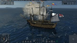 Naval Action: Settling Scores (HMS Victory Gameplay)