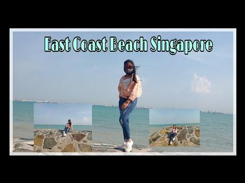East coast Beach Singapore ! Part 1