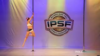 Irina Delevaque - IPSF World Pole Championships 2018