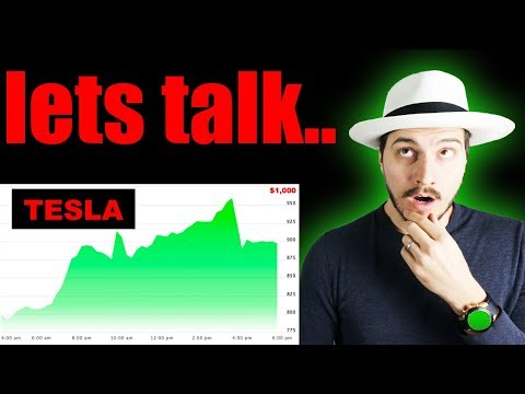 Tesla Stock Almost Hits $1,000! Lets Talk