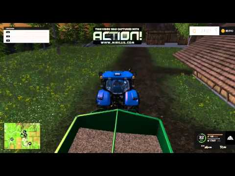 farming simulator 2015 vente des copeaux de bois youtube. Black Bedroom Furniture Sets. Home Design Ideas