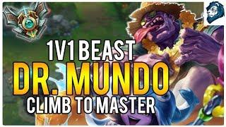 1v1 BEAST MUNDO - Climb to Masters | League of Legends
