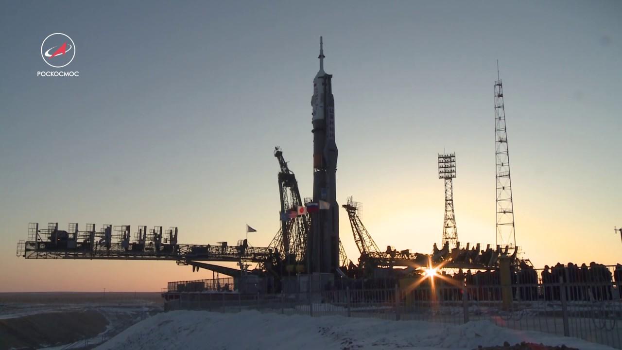 Новый экипаж МКС уже на пути к космической станции