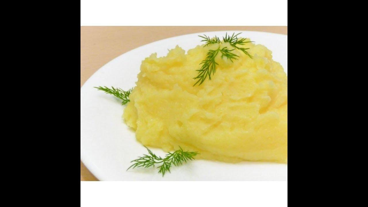 Нежнейшее картофельное пюре как в Детском Садике / Секреты вкусного картофельного пюре без яиц