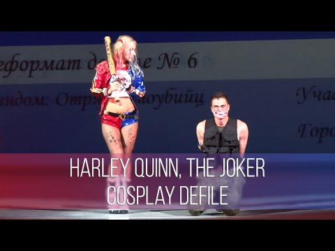 Chebicon 2016 Harley Quinn, The Joker - Suicide Squad Сosplay Defile | Харли Квинн, Джокер - Косплей