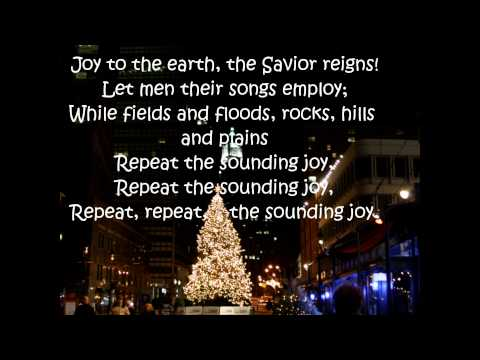 Joy to the World by George Strait (w/lyrics)