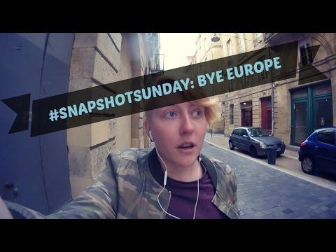 #SnapshotSunday: Bye Europe, Hello Couple-ish || Realisticallysaying