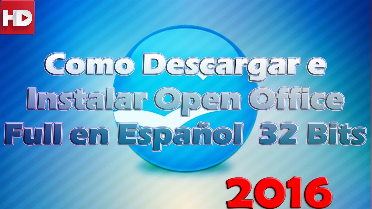 Como Descargar e Instalar OpenOffice Windows …