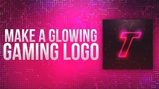 How To Make A Glowing Gaming Logo/Profile Picture in Photoshop 2019