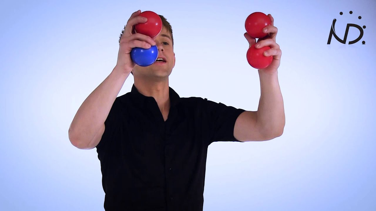 learn how to juggle 3 balls tutorial
