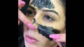 Elegance Facial Scrub & Black Mask Facial