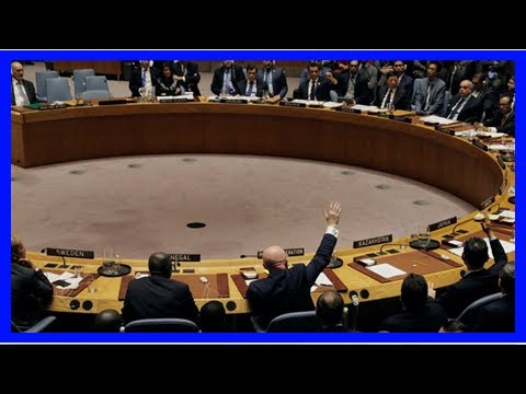 Breaking News | Palestine joins Chemical Weapons Convention and 2 UN agencies despite threat of US
