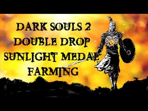 Dark Souls 2 - Best Way To Farm Sunlight Medals Offline