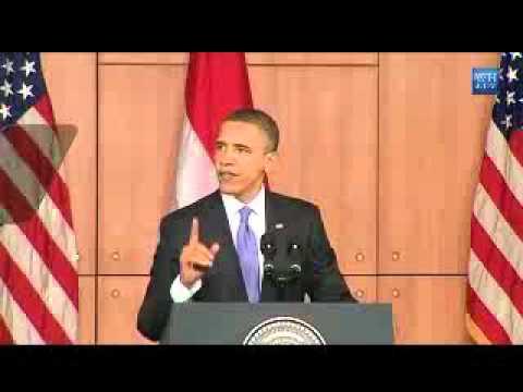 Obama Speech In Indonesia - Full Video