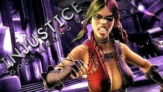 Injustice - Gods Among Us (Multiplayer Gameplay) HOT HERO CAT FIGHT!