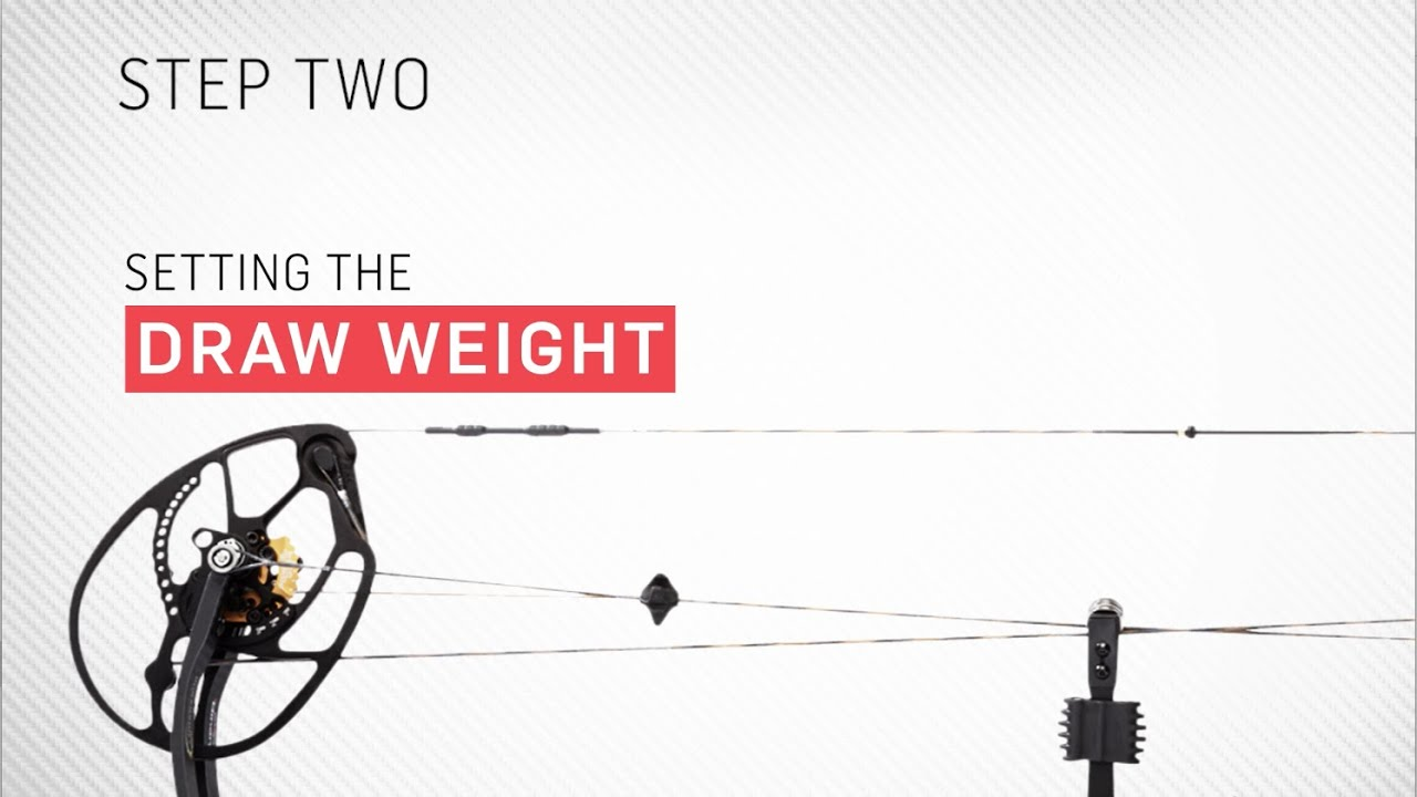 Step 2: Setting Draw Weight