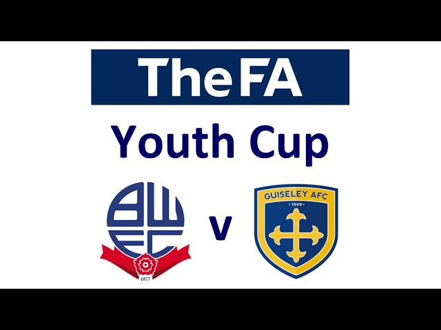 The FA Youth Cup Round 1 - BWFC v Guiseley U18s