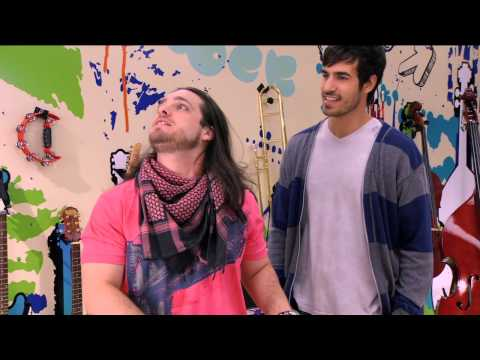 Rafa Palmer y Luca cantan ¨Tienes el talento¨ | Momento Musical | Violetta