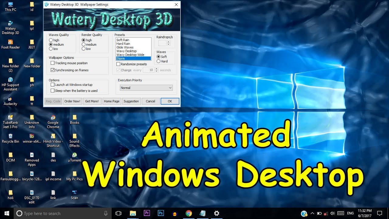 Top 10 Windows 10 Live Wallpapers You Need To Try: Make Your Windows Desktop Screen 3D Animated Watery