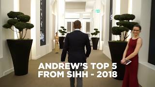 List - Andrew's Top 5 From Sihh 2018, Inc. Panerai, Iwc And A.lange & Sö