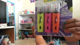 Back to School Supplies Haul* 6th Grade Edition*