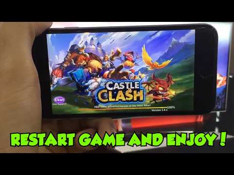 Castle Clash Hack Gems Online-Castle Clash Gameplay For All Device