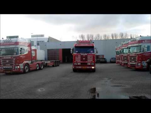 Volvo fh van van der windt uit de lier truckcentrum kampen