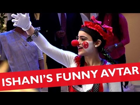 RV Finds Ishani Cute In a Clown's Attire