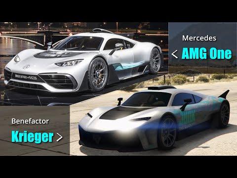 GTA V Benefactor \u0026 Ubermatcht vs Real life Mercedes \u0026 BMW