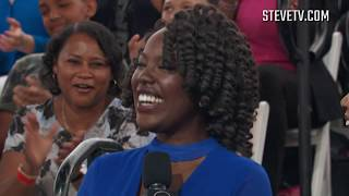 Steve Harvey Turns This Woman's Strange Laugh Into A Meme