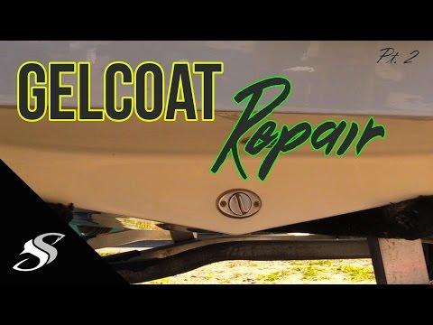 Boat Gelcoat Repair - Pt 2