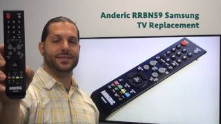 ANDERIC RRBN59 Samsung TV Remote Control - www.ReplacementRemotes.com