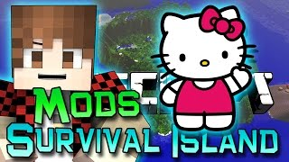 Minecraft: Survival Island Mods Ep. 8 - Kitty Cat Why!