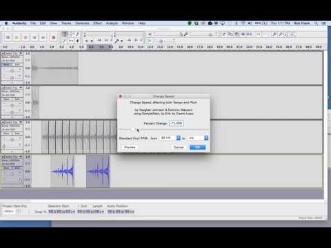 Digital Audio Project 1 - Getting Started in Audacity