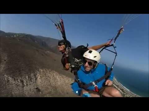 360 degree Paragliding in Malibu